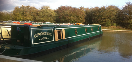 Vegas Narrowboats Paint